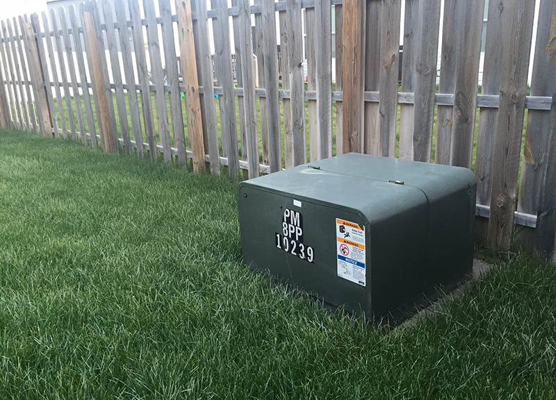 Take Care When Landscaping Around Padmount Transformers Oppd